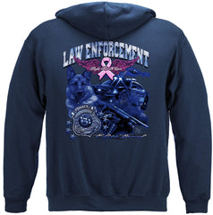 Elite Breed Police Fight Cancer Premium Hoodie Sweatshirt