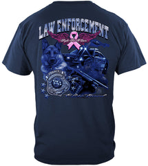 Elite Breed Police Fight Cancer Premium T-Shirt