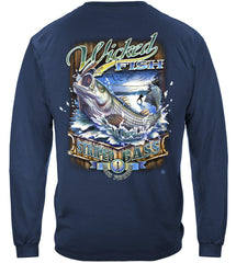 Wicked Stripper Action Premium Fishing Long Sleeve T-Shirt