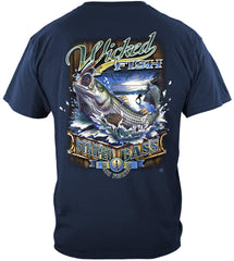 Wicked Stripper Action Premium Fishing T-Shirt