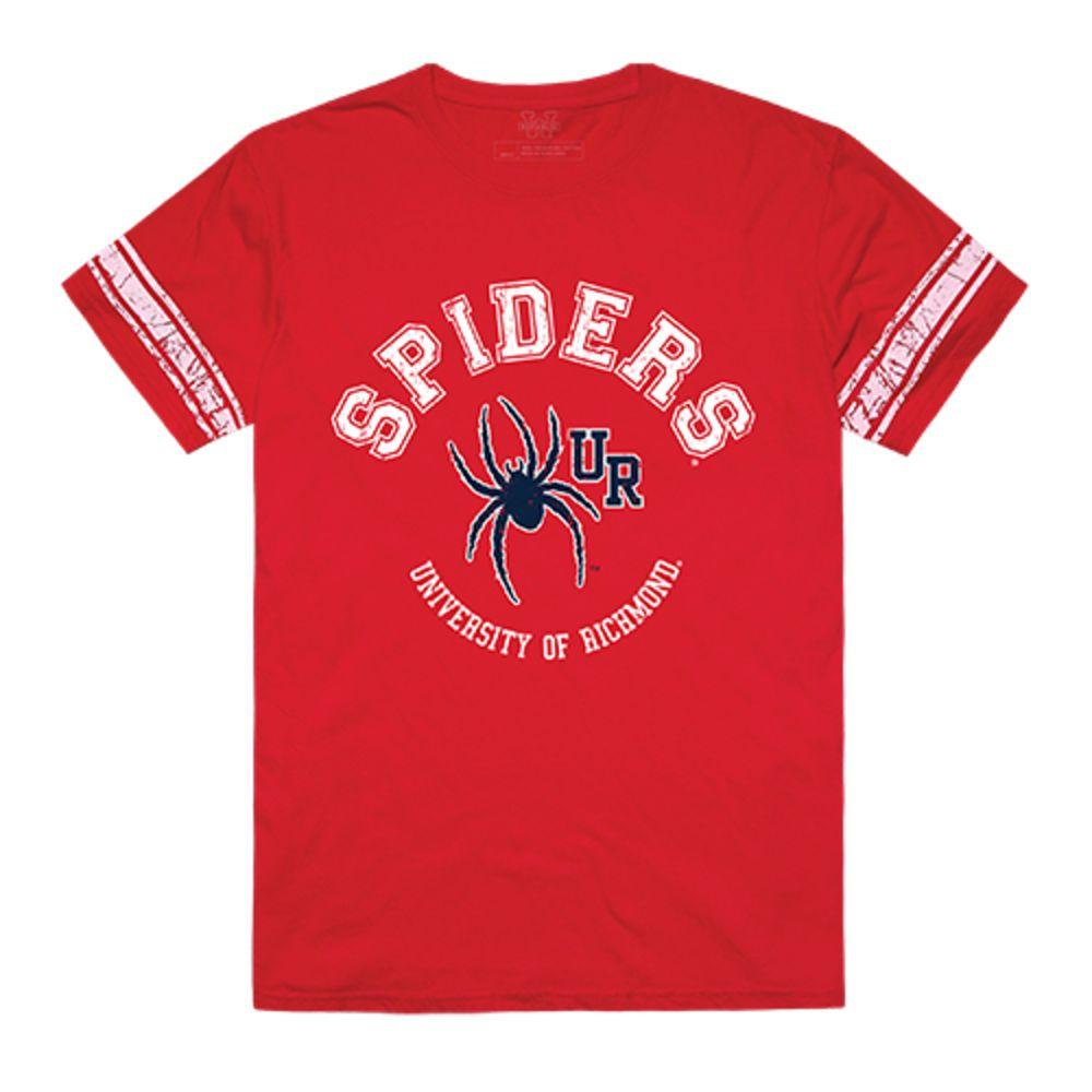 University of Richmond Spiders NCAA Men's Football Tee T-Shirt Red