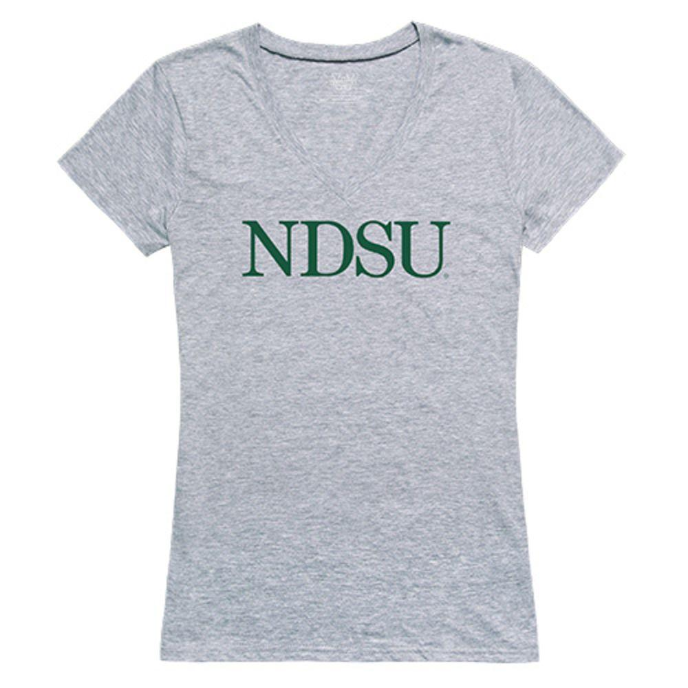 North Dakota State Uni Bison Thundering Herd NCAA Women's Seal Tee T-Shirt