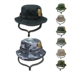 Military Style Boonie Bucket Fishing Hunting Rain Camouflage Hats Caps