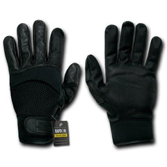 Air Mesh Breathable Digital Leather Tactical Patrol Gloves