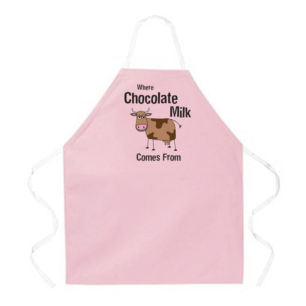 APRONS CHOCOLATE FUDGE DESSERT THEME 20 STYLES LA IMPRINTS FUNNY HUMOR ATTITUDE