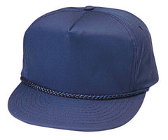 Blank Two Tone 5 Panel Baseball Cotton Twill Braid Snapback Hats Caps
