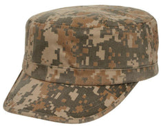 Digital Camouflage Camo Army Military Cadet Patrol Washed Cotton Baseball Hats Caps