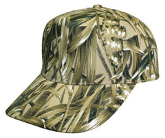 Camouflage Hunting Camping Fishing 5 Panel Cotton Twill Baseball Hats Caps