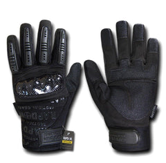 Carbon Fiber Knuckle Tactical Combat Touchscreen Gloves