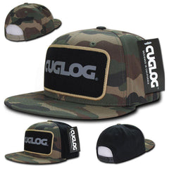 Cuglog Camouflage Camo Hunting Patch Snapback Caps Hats