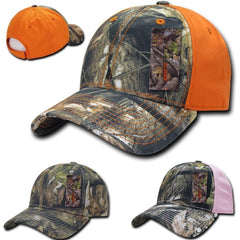 Decky Camouflage Hybricam Hunting Army Crown Baseball Caps Hats