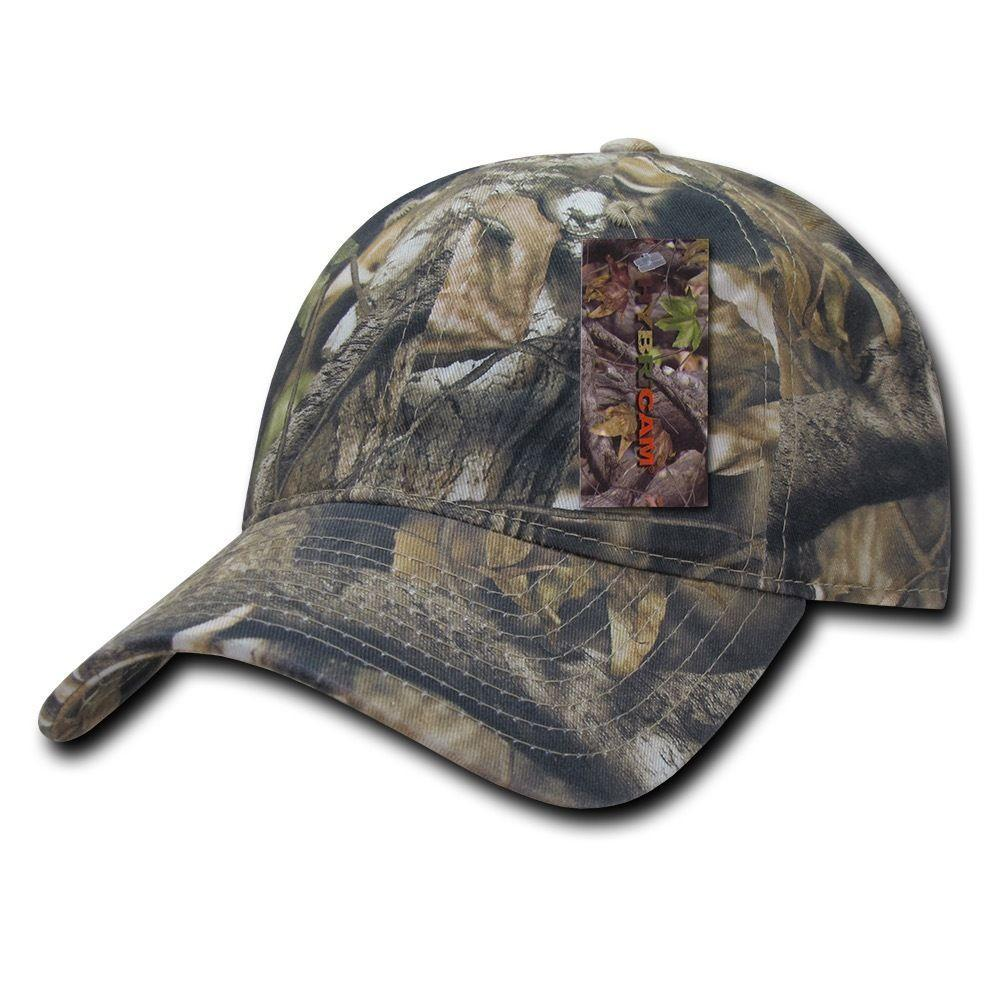 Decky Camouflage Relaxed Hybricam 6 Panel Hunting Army Cotton Caps Hats