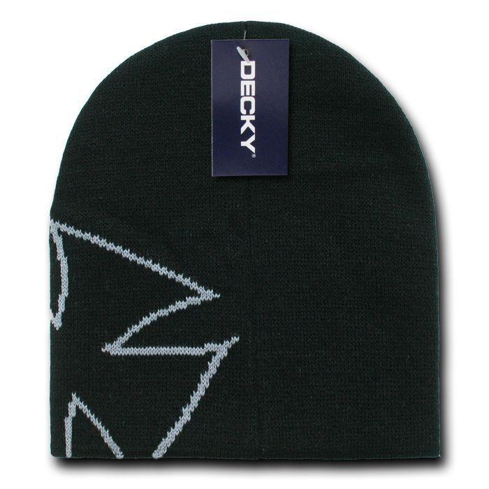 Decky Chopper Biker Iron Cross Logo Beanies Caps Hats Ski Skull Warm Winter