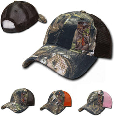Decky Relaxed Camouflage Hybricam Hunting Army Trucker Baseball Caps Hats