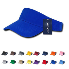 Decky Sports Spring Summer Sun Visors Caps Hats Cotton Beach Golf Unisex