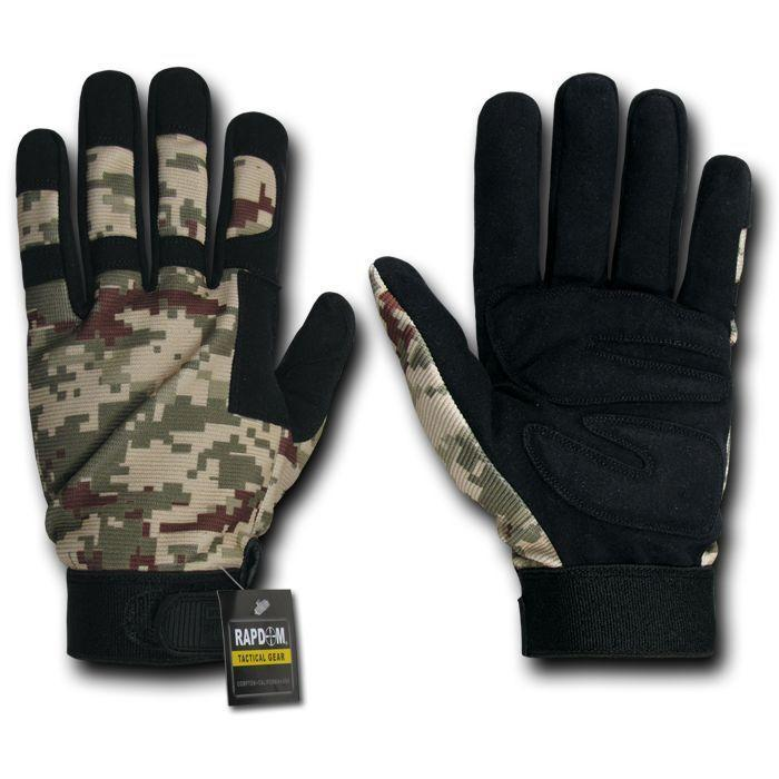 Digital Camo Camouflage Army Outdoor Tactical Hunting Gloves
