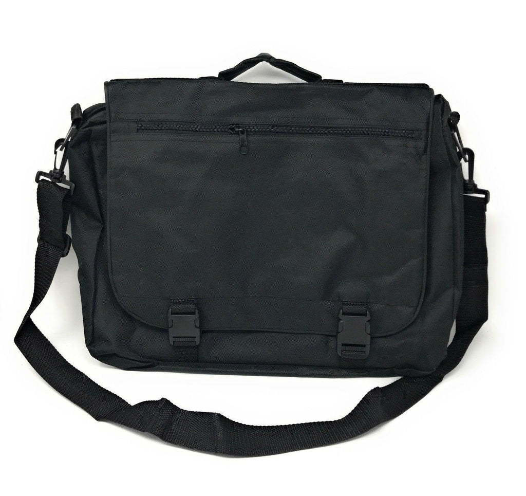 Expandable Messenger Shoulder Bags Briefcase Laptop Computer Devices Zippered