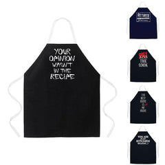 Funny Attitude Kitchen Aprons Cooking Grilling Grill Barbecue BBQ Gifts Dad Mom