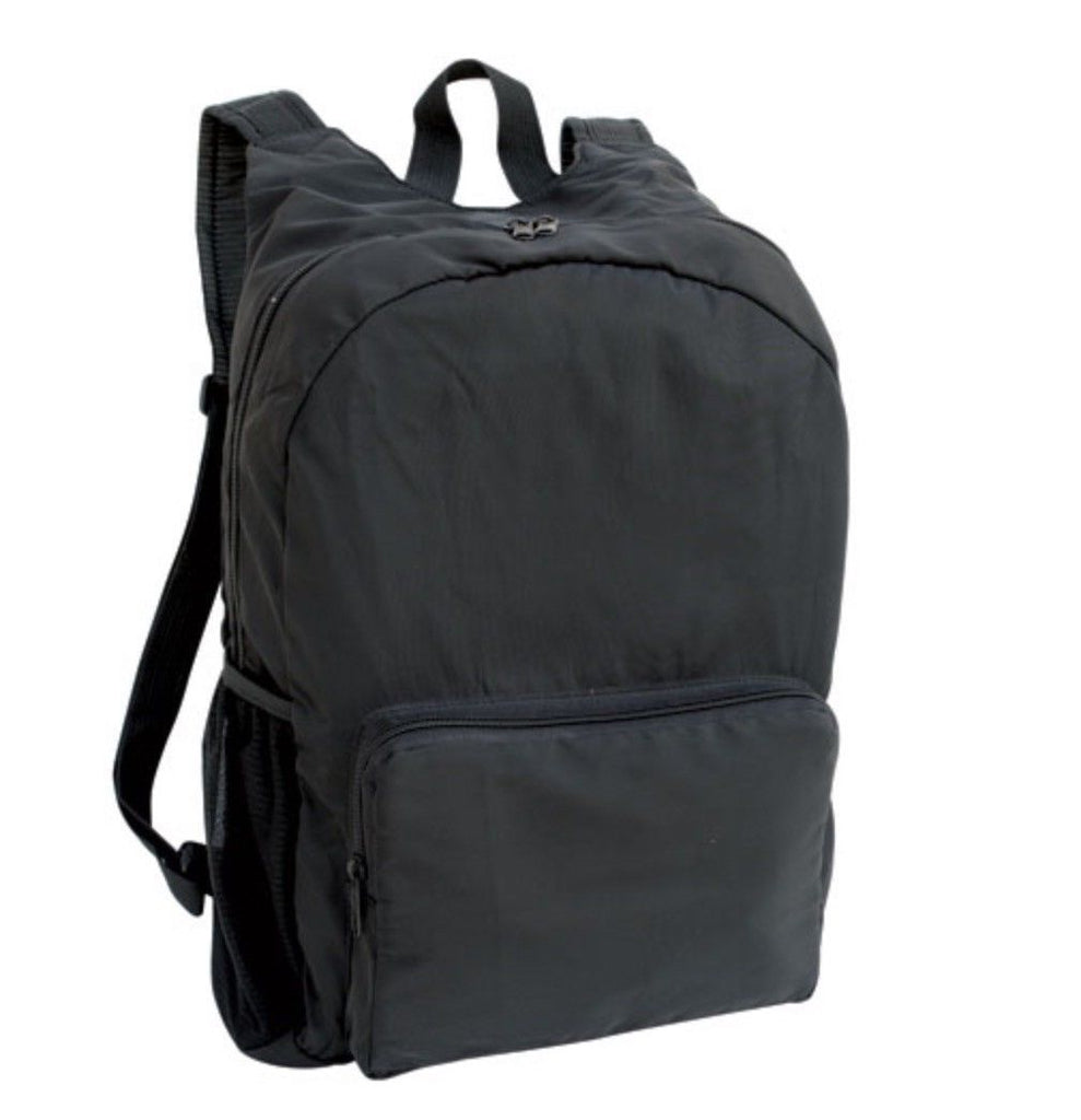 14inch Foldable Backpack Rucksack Bag For School Work Travel Luggage Carry On W/ Multi Pockets
