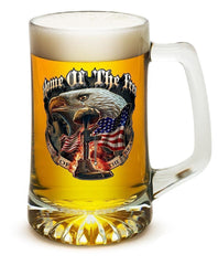 Home Of The Free Because Of The Brave - Set Of 2 Large Tankards 25Oz Drinkware