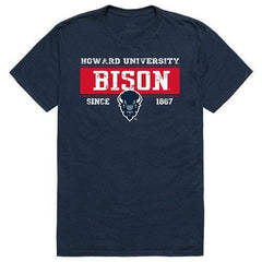 Howard University Bisons NCAA Established Tees T-Shirt