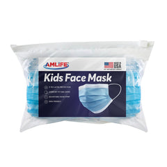 AMLIFE Kids Size Face Masks Youth Children Boys Girls Youth Mask Made in USA Imported Fabric