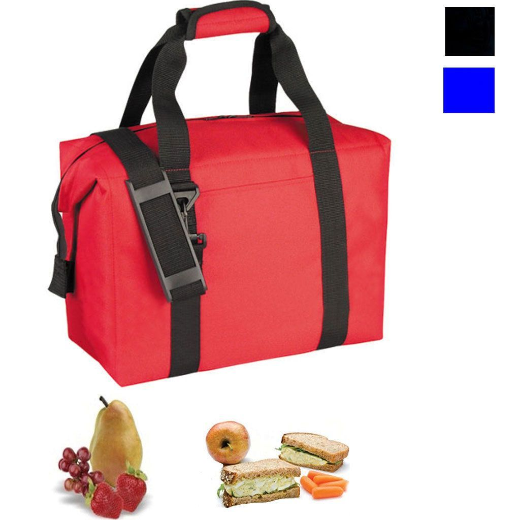 Wide Mouth Insulated Cooler Lunch Box Bags Picnic Beer Drink Water 14 x11-3/4inch