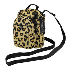 Kristen Whang Nylon Mini Small 2 Zip Pockets Adjustable Straps Bags Backpack