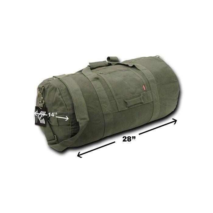 28inch Large Duffle Bags Backpack Rucksack Heavy Duty Canvas Cotton Luggage 70L