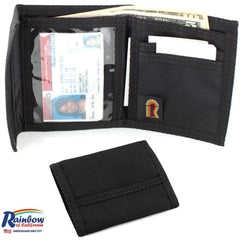 Made in USA Rainbow of California Bifold Wallet ID Window Mens Water Resistant