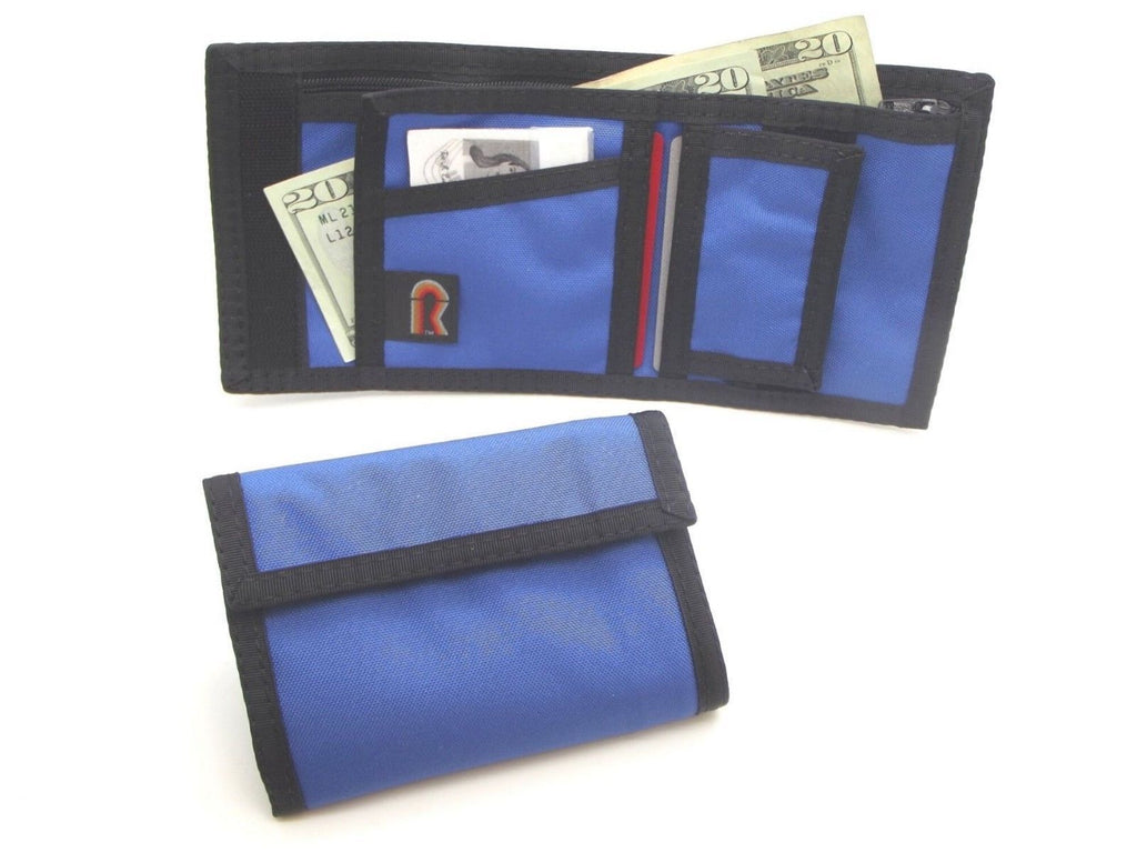 Made in USA Rainbow of California w/Zipper RFID-Blocking Panel Mens Wallet