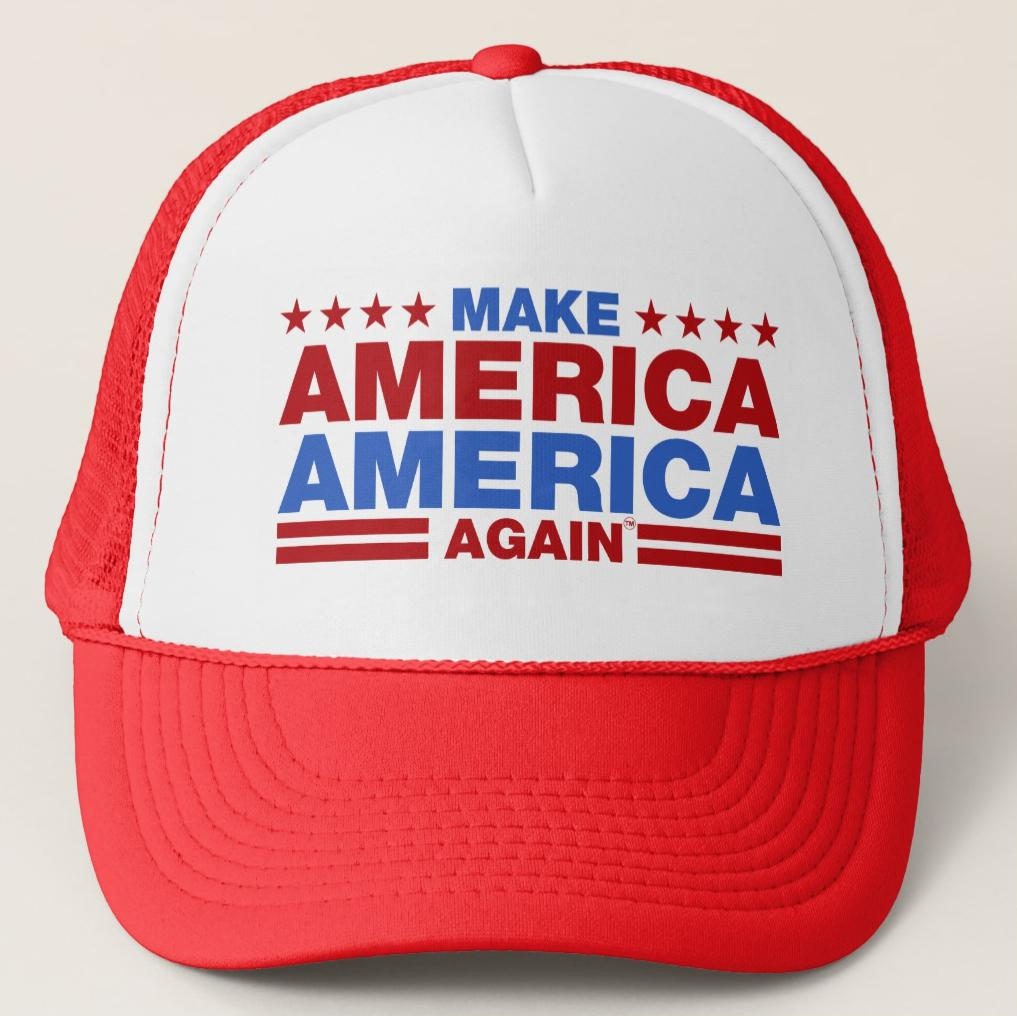 Make America America Again Trucker Hat Cap #MAAA USA Official Trademarked