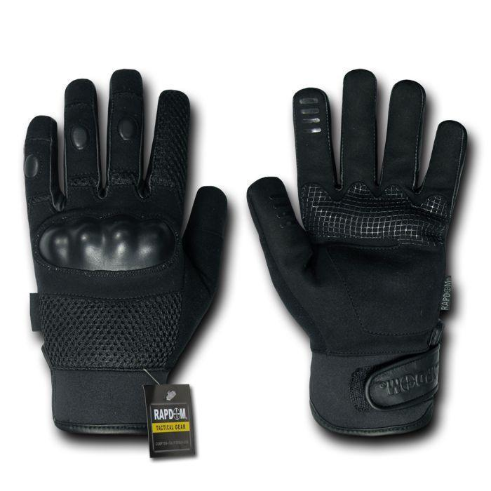 Military Assassin Leather Level 5 Cqb Tactical Hatch Gloves