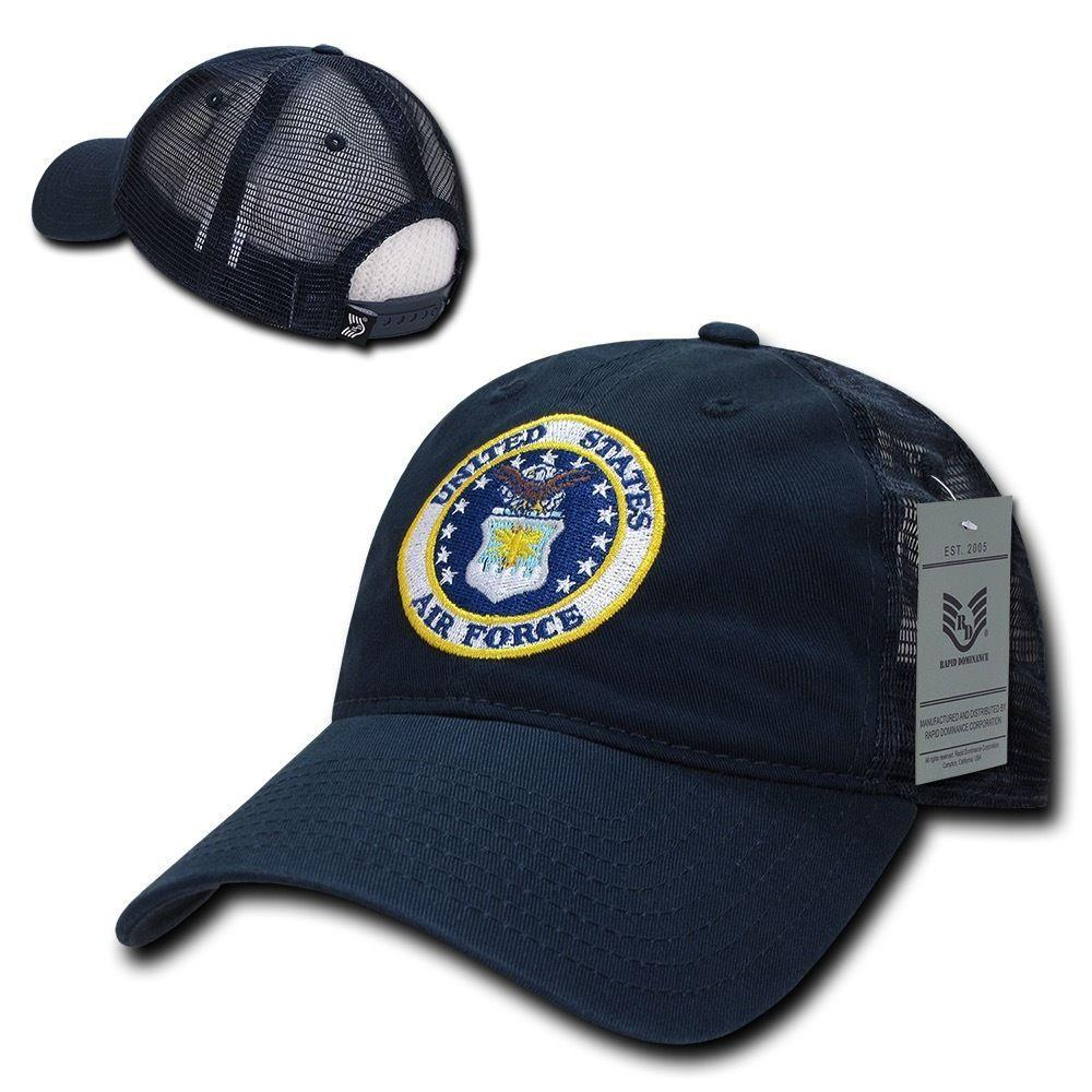 Rapid Dominance Law Enforcement Relaxed Trucker Cotton Low Crown Caps Hats