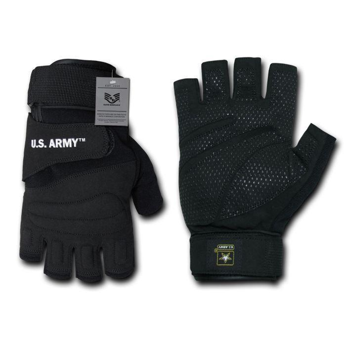 Military US Army Half Finger Tactical Assault Combat Work Gloves