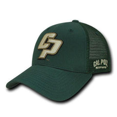 NCAA Cal State Poly University Cotton Structured Trucker Caps Hats Hunter