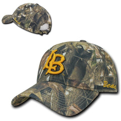 NCAA Csulb Long Beach State 49Ers California Relaxed Hybricam Camouflage Caps