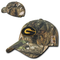 NCAA Grambling State Tigers University Relaxed Hybricam Camouflage Caps Hats
