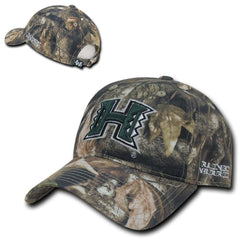 NCAA Hawaii University Rainbow Warriors Relaxed Hybricam Camouflage Caps Hats