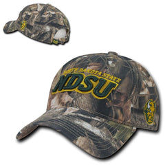 NCAA Ndsu North Dakota State Bison U Relaxed Hybricam Camouflage Caps Hats