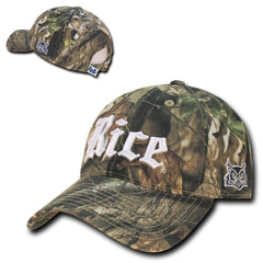 NCAA Rice Owls University Relaxed Hybricam Camouflage Camo Caps Hats