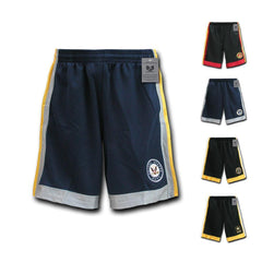 US Army Air Force Navy Marines Military Performance Training Shorts