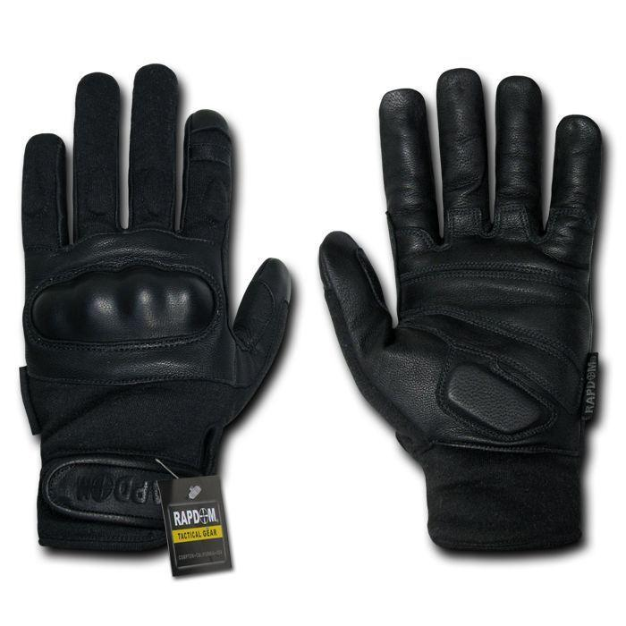 Nomex Tactical Hard Knuckle Combat Rescue Shooting Patrol Gloves