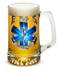 On Call For Life Ems - Set Of 2 Large Tankards 25Oz Drinkware