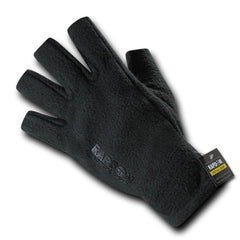 Polar Fleece Half Finger Winter Outdoor Military Patrol Army Gloves