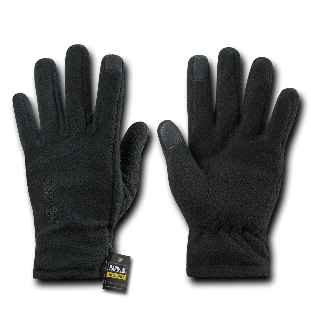 Polar Fleece Winter Thumb Fingertip Touch-Screen Compatible Gloves