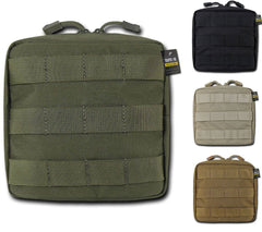 RAPDOM Compact Utility Pouch Bag Travel Tactical Gear Military Army Molle 6X6