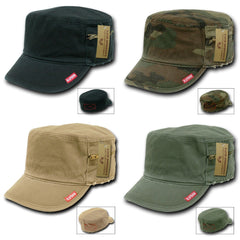 Rapid Dominance Flat Top Zipper Bdu Fatigue Cadet Military Army Vintage Torn Caps Hats