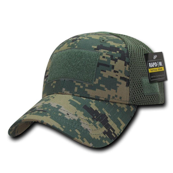 6f4119a30bc Low Crown Air Mesh Constructed Military Tactical Operator Patch Cap Ha –  Serve The Flag