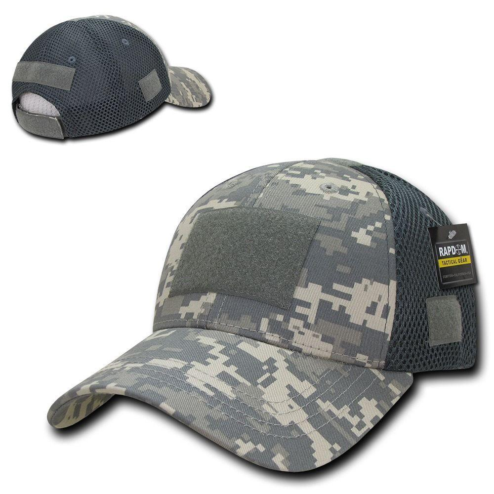 Low Crown Air Mesh Constructed Military Tactical Operator Patch Cap Hats